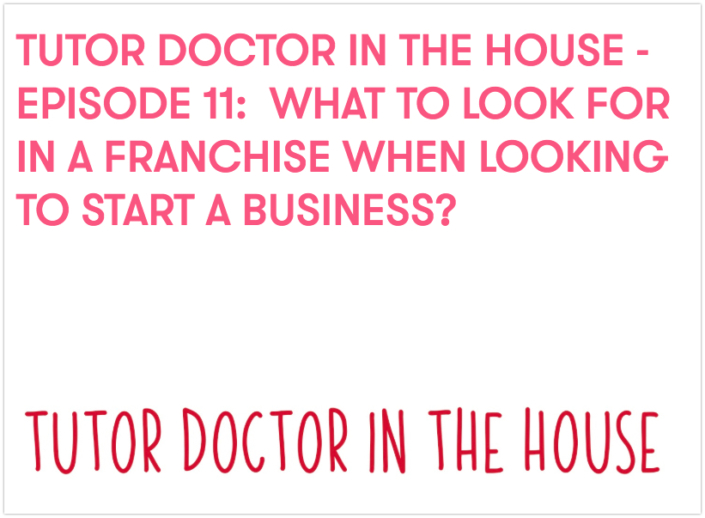 What to Look For In A Franchise