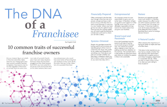 DNA of a Franchisee